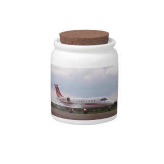 Bombardier Lear Jet 45XR Candy Dishes