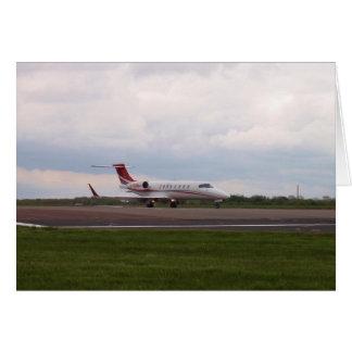 Bombardier Lear Jet 45XR Card