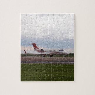 Bombardier Lear Jet 45XR Jigsaw Puzzle