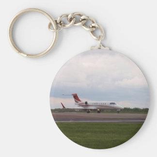 Bombardier Lear Jet 45XR Keychain
