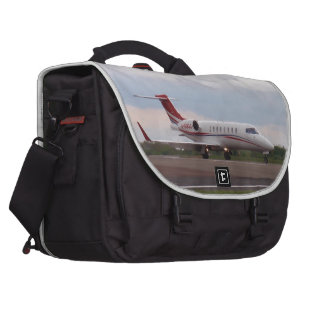 Bombardier Lear Jet 45XR Laptop Commuter Bag