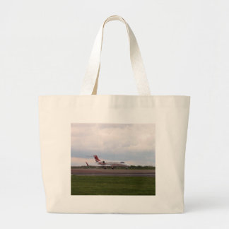Bombardier Lear Jet 45XR Large Tote Bag