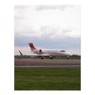 Bombardier Lear Jet 45XR Letterhead