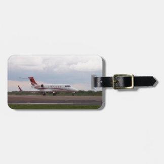 Bombardier Lear Jet 45XR Luggage Tag