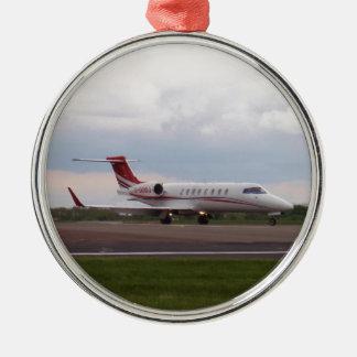 Bombardier Lear Jet 45XR Metal Ornament