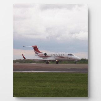 Bombardier Lear Jet 45XR Plaque