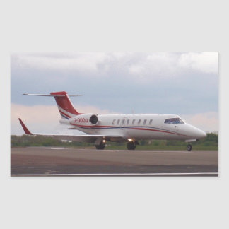 Bombardier Lear Jet 45XR Rectangular Sticker