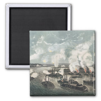 Bombardment and Capture of Island No.10 2 Inch Square Magnet
