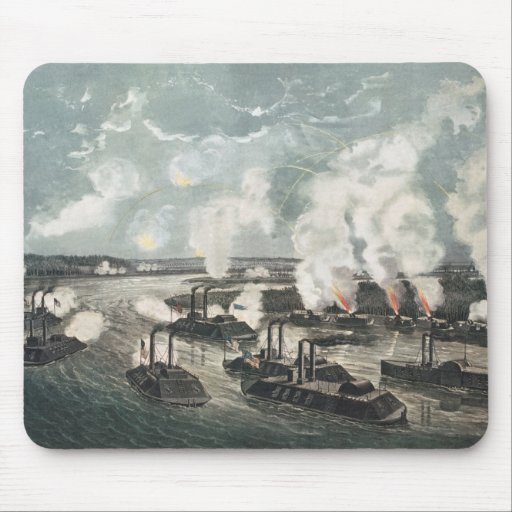 Bombardment and Capture of Island No.10 Mouse Pad