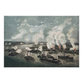 Bombardment and Capture of Island No.10 Poster