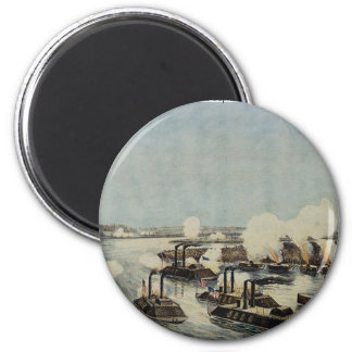 Bombardment and Capture of Island Number Ten 2 Inch Round Magnet