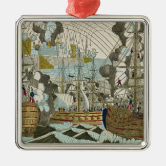 Bombardment and Siege of Algiers, 3rd July 1830 Metal Ornament