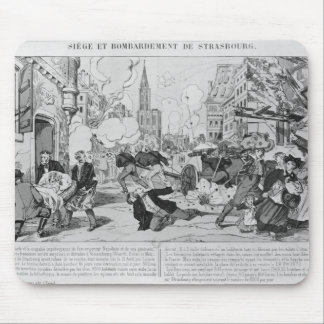 Bombardment and siege of Strasbourg Mouse Pad