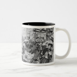 Bombardment and siege of Strasbourg Two-Tone Coffee Mug