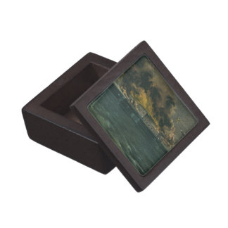 Bombardment of Fort Sumter by Currier & Ives Premium Jewelry Box