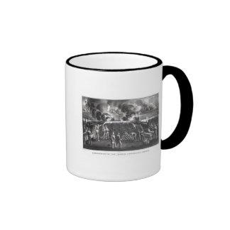 Bombardment of Fort Sumter Charleston Harbour Coffee Mug