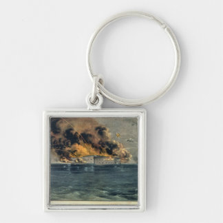 Bombardment of Fort Sumter Key Chains