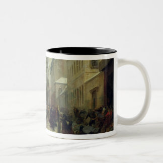 Bombardment of Paris in 1871 Two-Tone Coffee Mug