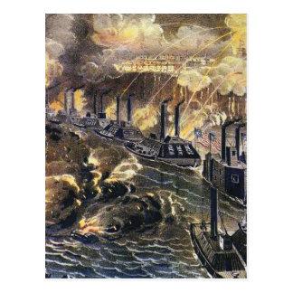 Bombardment of Vicksburg Postcard