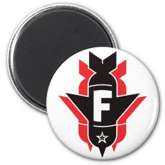 Bombas de caída de F - rojo Iman