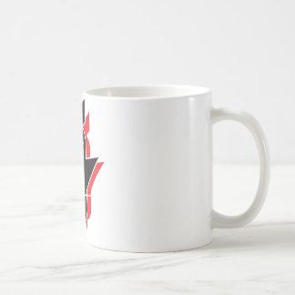 Bombas de caída de F - rojo Tazas De Café