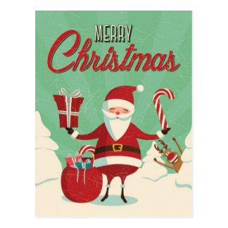 Bombas de foto de Rudolph Santa Tarjetas Postales