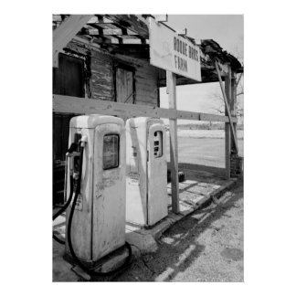 Bombas de gas viejas impresiones