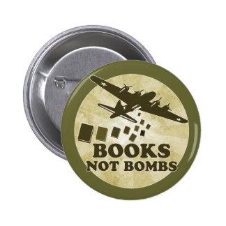 Bombas de los libros no pin redondo 5 cm