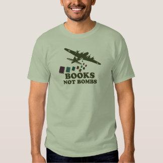 Bombas de los libros no playera