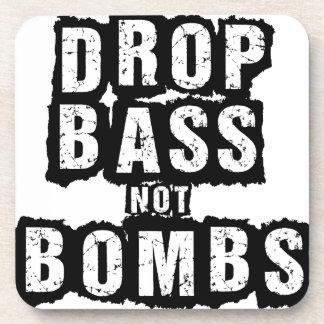 Bombas del bajo del descenso no posavasos