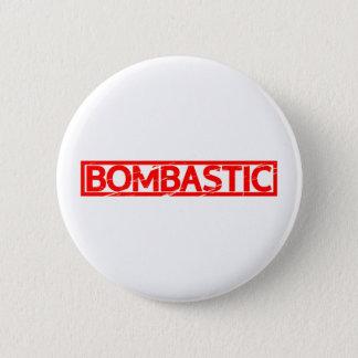 Bombastic Stamp Pinback Button
