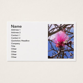 Bombax Blossom Business Card