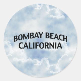 Bombay Beach California Classic Round Sticker