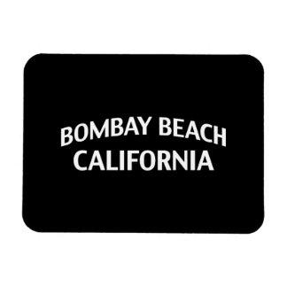 Bombay Beach California Vinyl Magnets