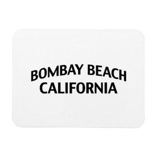 Bombay Beach California Rectangle Magnets