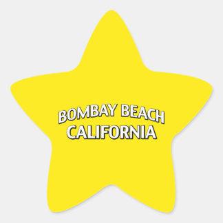 Bombay Beach California Star Sticker