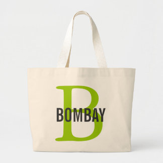 Bombay Breed Monogram Tote Bag