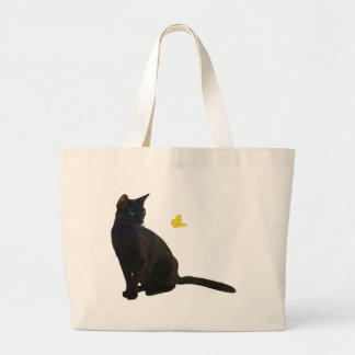 Bombay Cat Butterfly Tote Bag