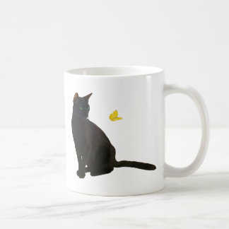 Bombay Cat & Butterfly Coffee Mug