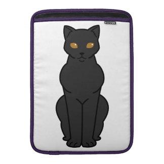 Bombay Cat Cartoon MacBook Sleeves