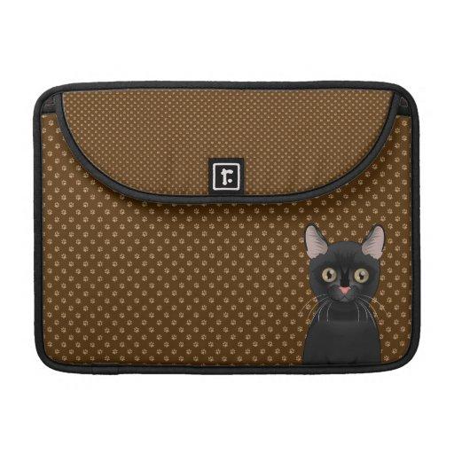 Bombay Cat Cartoon Paws Sleeve For MacBook Pro