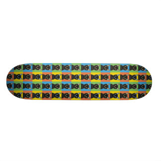 Bombay Cat Cartoon Pop-Art Skate Board