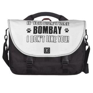 bombay cat design commuter bags