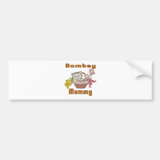 Bombay Cat Mom Bumper Sticker