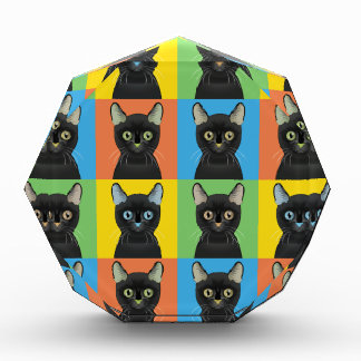Bombay Cat Pop-Art Award