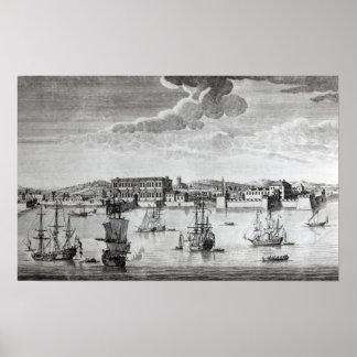 Bombay en la costa de Malabar Impresiones