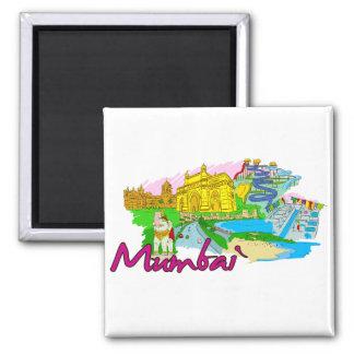 Bombay - India.png Imán De Frigorifico