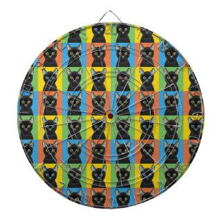 Bombay Pop-Art Dartboard With Darts