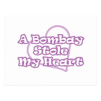 Bombay Stole My Heart Postcard