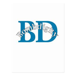 Bombdigity (BD Blue) Postcard